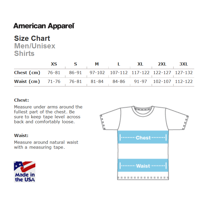 Take your body measurement and choose your sizing on the basis of the size chart of American Apparel where unisex, ladies and youth sizing is available/5(K).